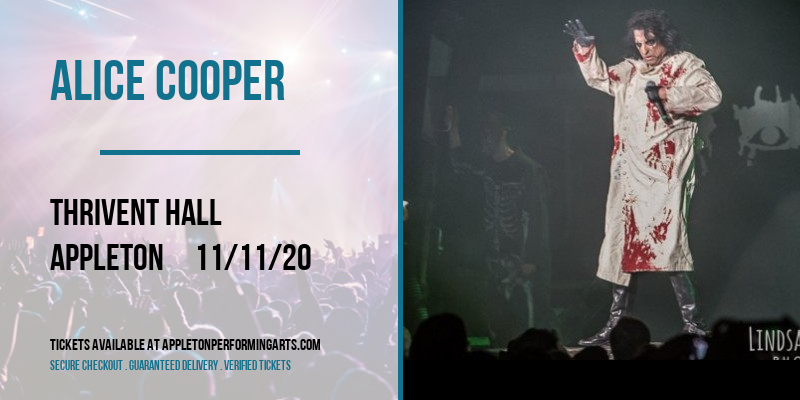 Alice Cooper at Thrivent Hall