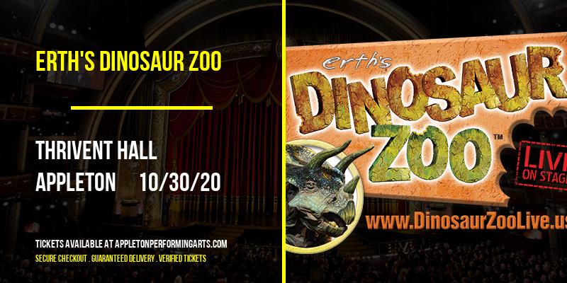 Erth's Dinosaur Zoo at Thrivent Hall