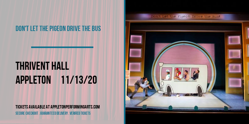 Don't Let The Pigeon Drive the Bus at Thrivent Hall