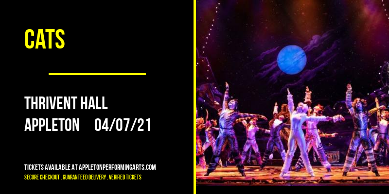 Cats [CANCELLED] at Thrivent Hall