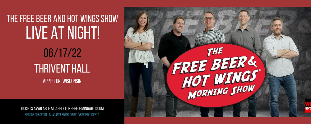 The Free Beer and Hot Wings Morning Show at Thrivent Hall