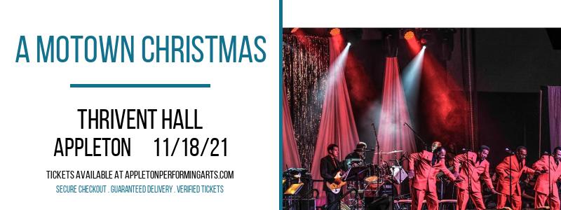 A Motown Christmas at Thrivent Hall